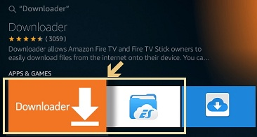 downloader app on amazon fire tv