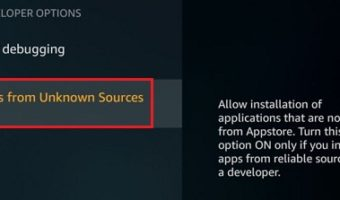 enable unknown sources of fire stick tv